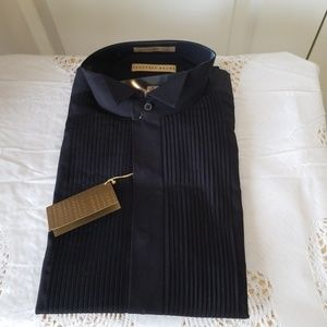 Geoffrey Beene black dress shirt